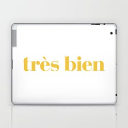 "Très Bien ""Yellow"" Laptop & iPad Skin"