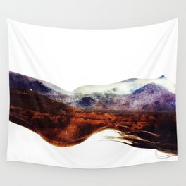Mountains within us Wall Tapestry