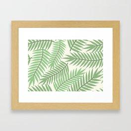 Vintage Florida Palm Fronds 2 Framed Art Print