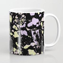 Decay Pattern, Pebbles in Black Light Coffee Mug