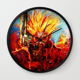 trigun Wall Clock