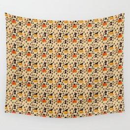 FALL CAT Wall Tapestry
