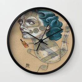 SUGAR DRAGON Wall Clock