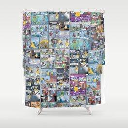 Landlubber Super-Shirt Shower Curtain