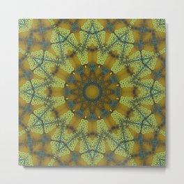 Jewelled Sunflower Splendor Metal Print