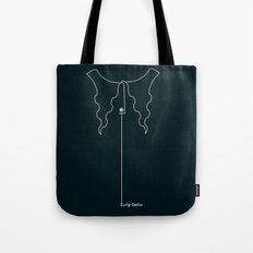 Curly Collar Tote Bag