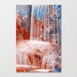 Acrylic Urbex Falls Canvas Print