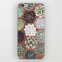 Succulent Life iPhone Skin