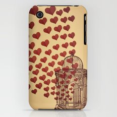 Let Love Out Slim Case iPhone (3g, 3gs)