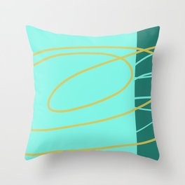 Social Club #buyart #minimal  Throw Pillow