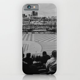 Safeco Field, Seattle WA, Black And White Photography. iPhone Case
