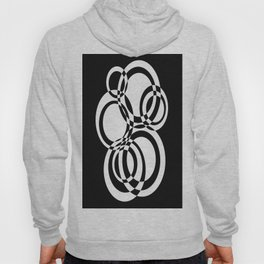 Black And White Circles #2 Hoody