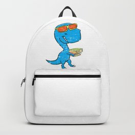 Dino Carrying Books Backpack