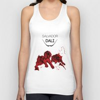 dali Tank Tops featuring DALI by Ruben Mangorrinha