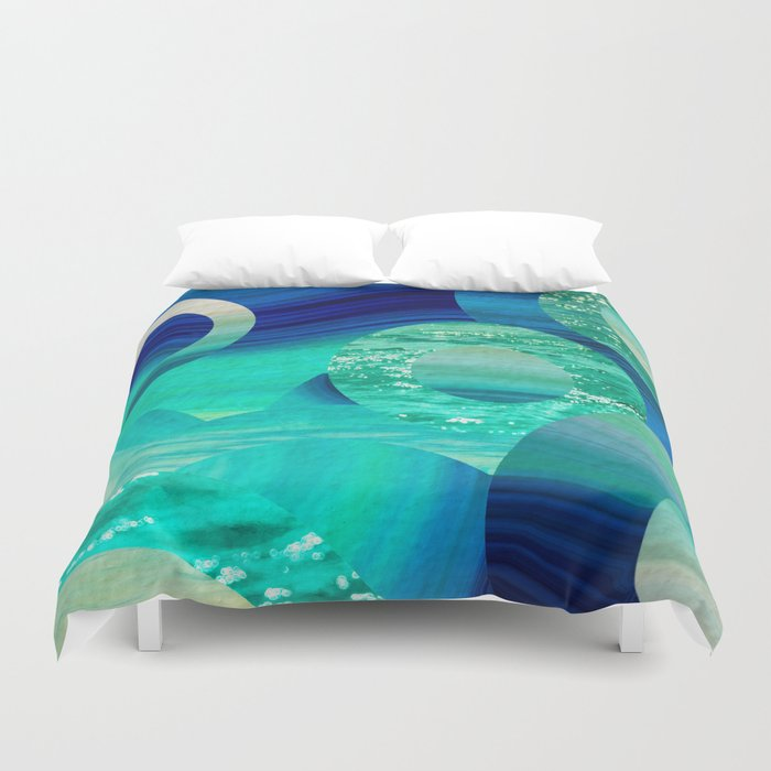 SEA-NCHRONICITY Duvet Cover