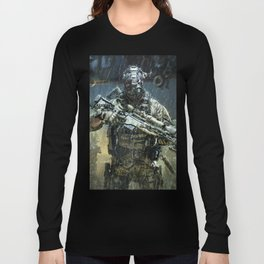 Night time Sniper Hunting Long Sleeve T-shirt