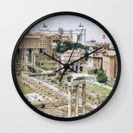 rome, vi Wall Clock