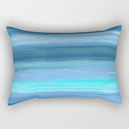 Shades of Blue by Bethany Kelm Rectangular Pillow