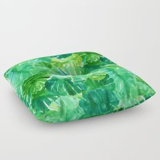 Welcome to the Jungle Palm Floor Pillow