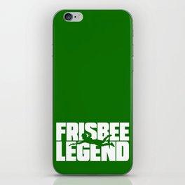 Frisbee Legend iPhone Skin