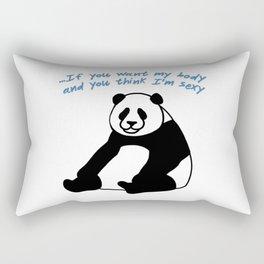 Panda 2 Rectangular Pillow