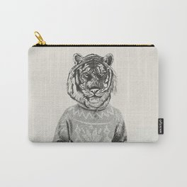 Hipster Urban Tiger Carry-All Pouch