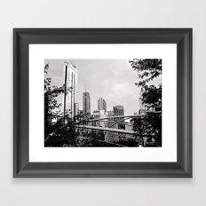 The Chicago Skyline Framed Art Print