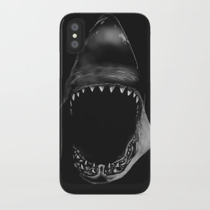 shark iphone case shark attack iphone by kcgillies society6 12959