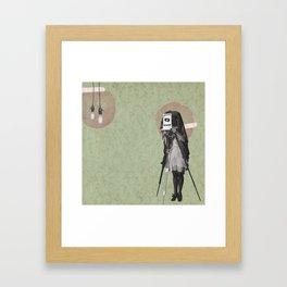Feminine Collage II Framed Art Print