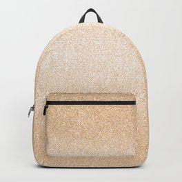 Chic elegant gold gradient glitter Backpack