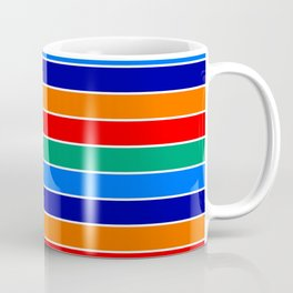 saint petersburg city flag stripes Coffee Mug