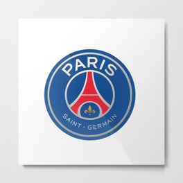 PSG Logo Metal Print