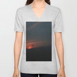Sunset of Bonito Unisex V-Neck