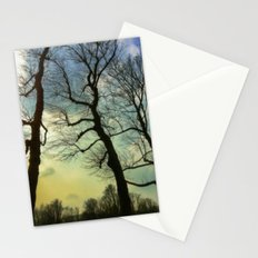Remembering a winter sky Stationery Cards