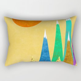 Peaks XIX Rectangular Pillow