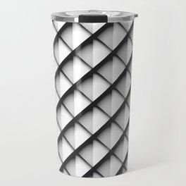 Light Metal Scales Travel Mug