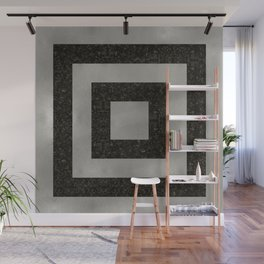 Silver Squares Wall Mural