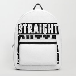 Straight Outta High School Backpack