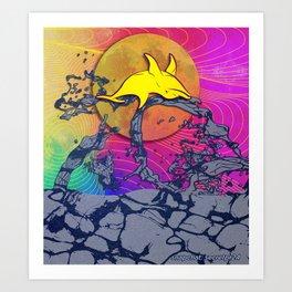 Lánzate (La Noche de San Juan) Art Print