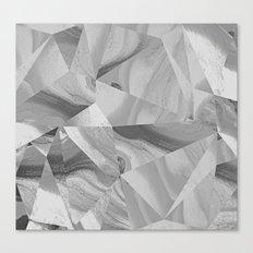 Irregular Marble II Canvas Print