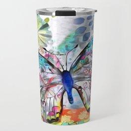 Fantasía con Mariposas Travel Mug