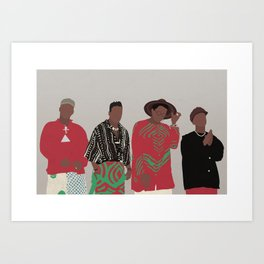 A TRIBE CALLED QUEST Kunstdrucke