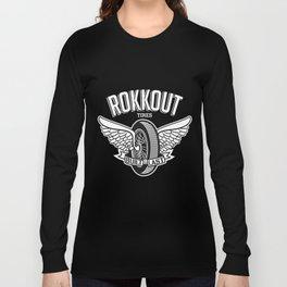 Flying wheel  Long Sleeve T-shirt