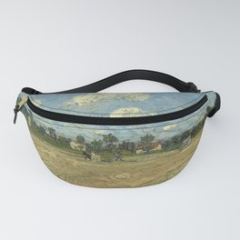 Ploughed fields ('The furrows') Fanny Pack