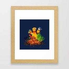 chritmas present (polite version) Framed Art Print