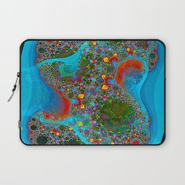 Abstract Topography Laptop Sleeve