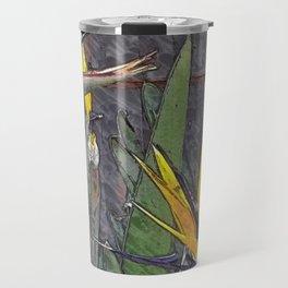 Birds of paradise flowers Travel Mug