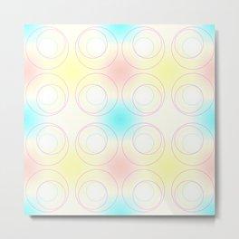 A Crop of Circles Metal Print