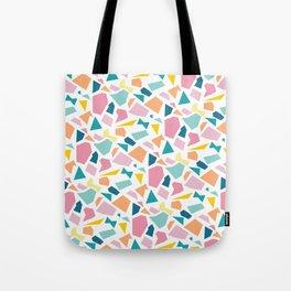 Jumpy -- abstract geometric preppy pastel bright pattern modern minimalist Tote Bag
