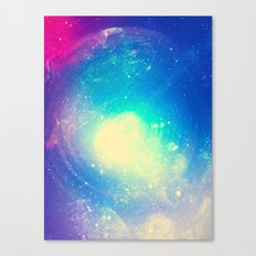 Galaxy Waves Canvas Print